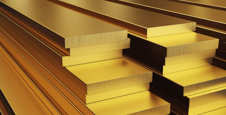 brass panels